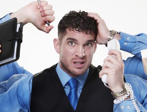 Många känner sig stressade på jobbet